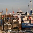 Blick in den Alten Hafen von Cuxhaven