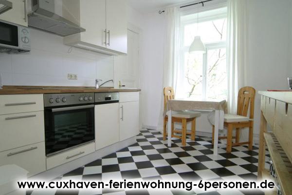 Cuxhaven-Ferienwohnung-6Personen_Kueche