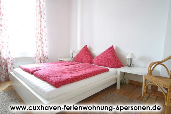 Cuxhaven-Ferienwohnung-6Personen_Schlafzimmer5
