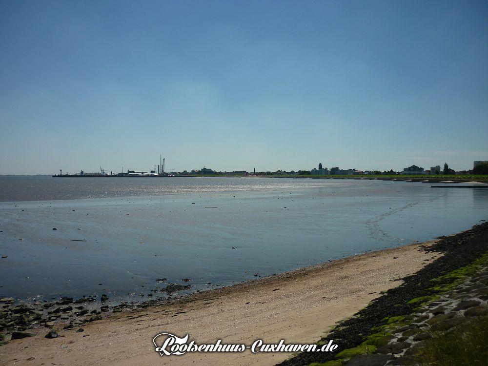Wetterfoto Grimmershörnbucht Cuxhaven