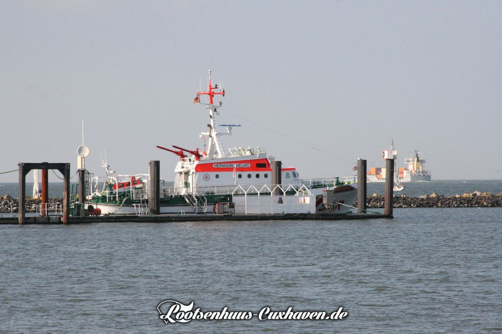 Seenotrettungskreuzer Hermann Helms in Cuxhaven