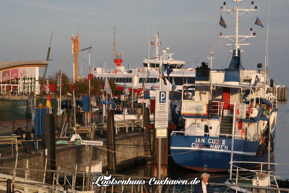 Alte Liebe und Schiffe - Ferienwohnung Cuxhaven Grimmershoern