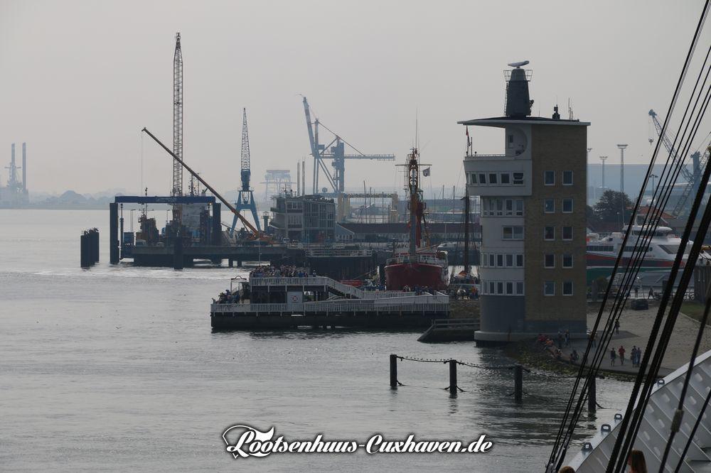 Cuxhaven Radartur Alte Liebe Steubenhöft