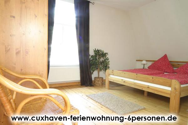 Cuxhaven-Ferienwohnung-6Personen_Schlafzimmer4