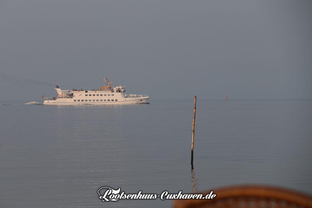 Cuxhaven Schiff Wasser