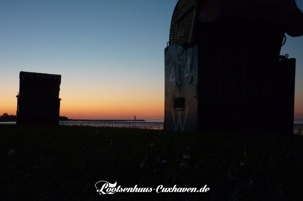Sonnenuntergang Grimmershörn Cuxhaven