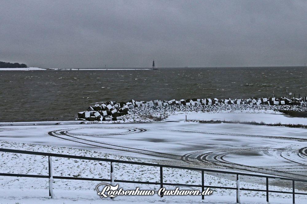 Cuxhaven Grimmershörn im Winter