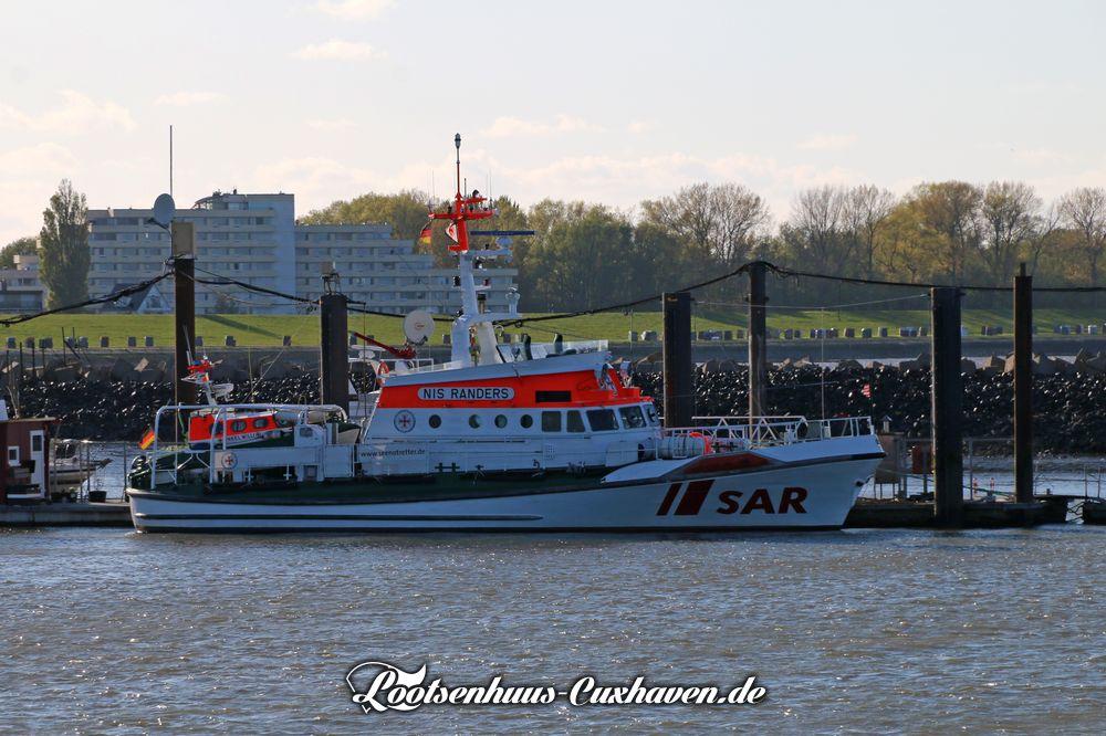 Seenotkreuzer Nis Randers in Cuxhaven