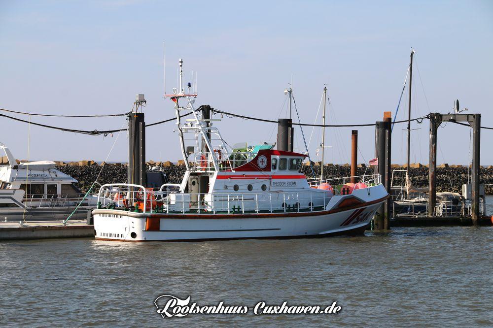 Seenotkreuzer Theodor Storm in Cuxhaven