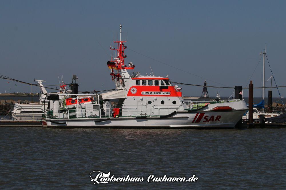 Seenotkreuzer Hermann Rudolf Meyer in Cuxhaven