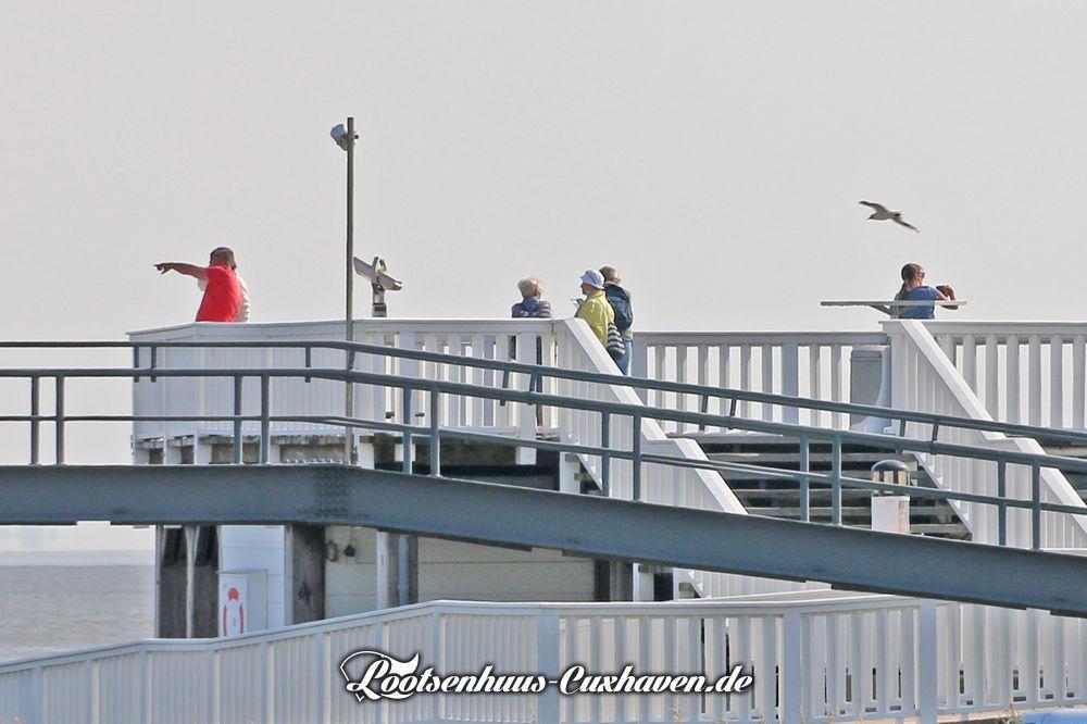Cuxhaven Wetter im Juli 2021 - Es ist warm aber bewölkt - später soll es noch regnen