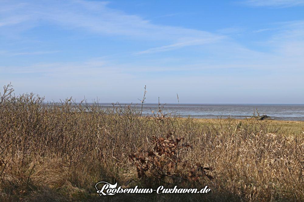 Wetter in Cuxhaven im März 2021 - Die Sonne hat schon richtig kraft
