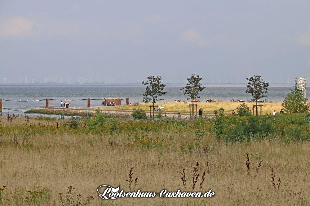 Cuxhaven am Seglerhafen, Alte Liebe im Sommer 2021